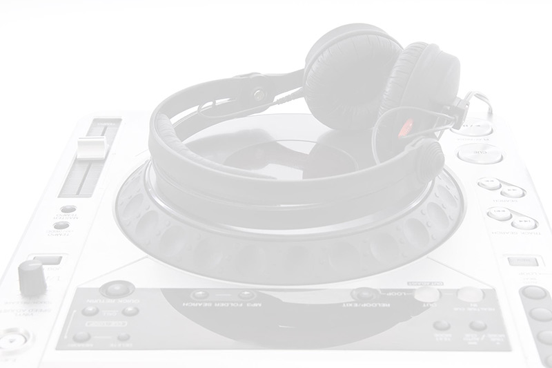 Headphones and Mixer Image