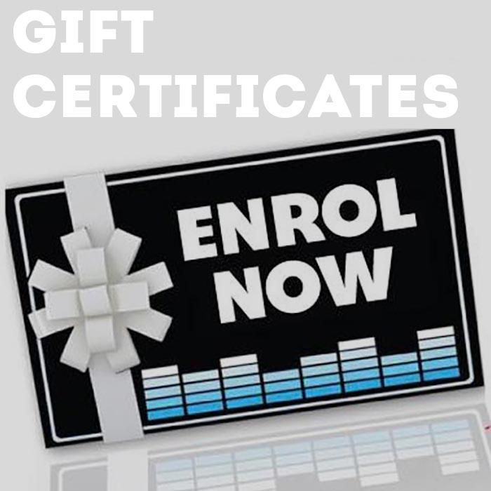 Gift Certificates Image