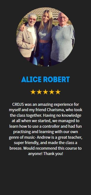 Alice Robert Profile