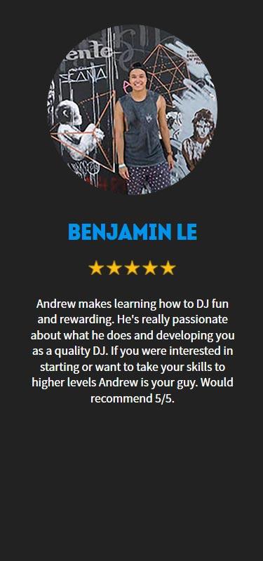 Benjamin Le Profile