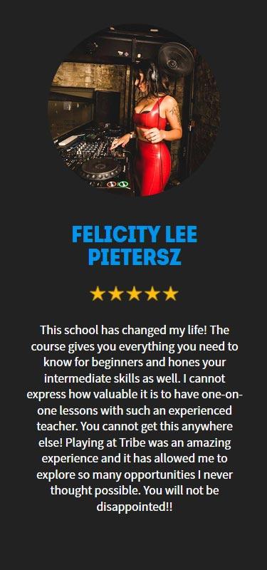 Felicity Lee Pietersz Profile