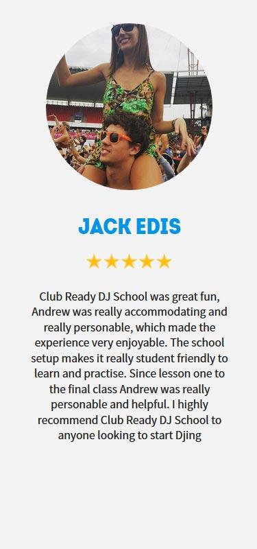 Jack Edis Profile