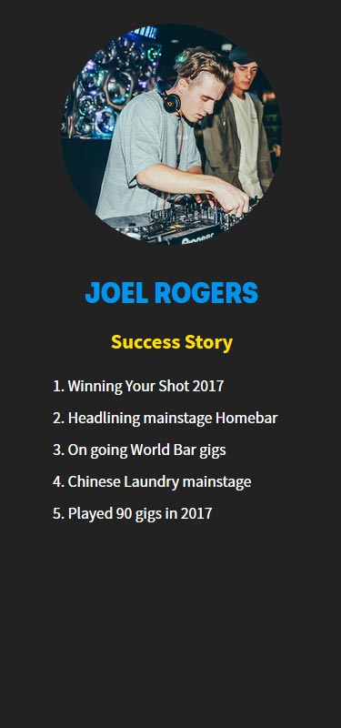 Joel Rogers Profile