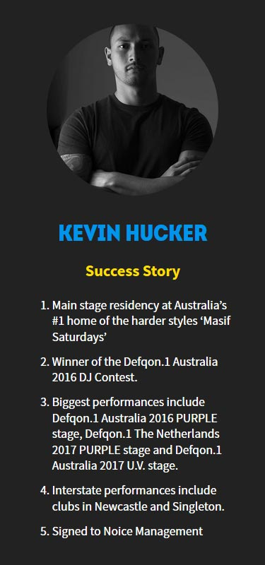 Kevin Hucker Profile