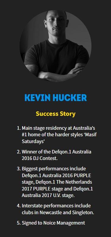Kevin Hucker Profile