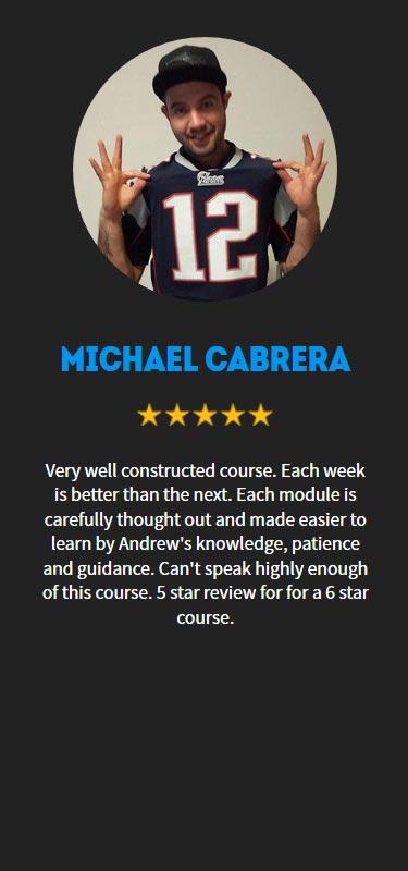 Michael Cabrera Profile