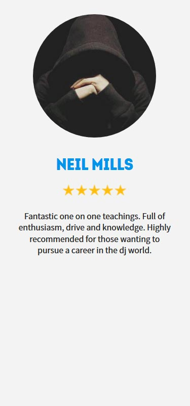 Neil Mills Profile