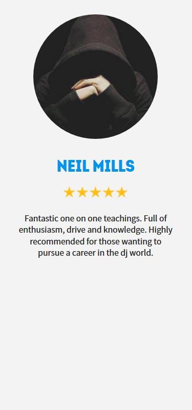 Neil Mills Profile