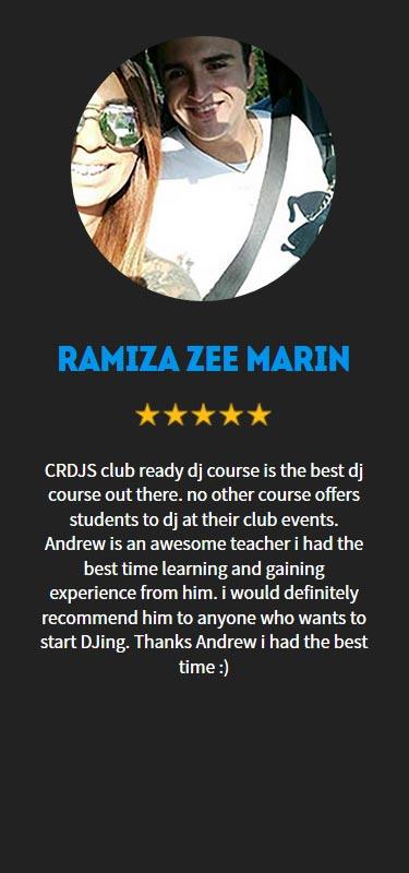Ramiza Zee Marin Profile