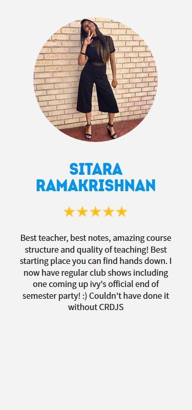 Sitara Ramakrishnan Profile