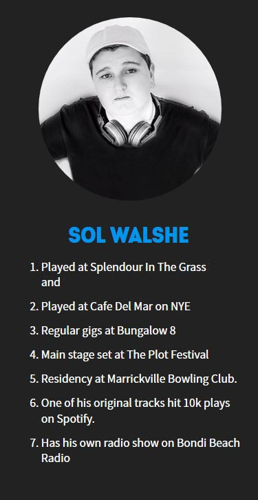 Sol Walshe Profile