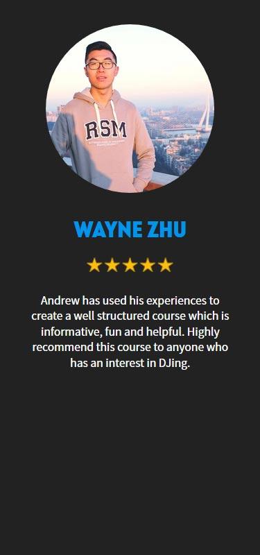 Wayne Zhu Profile
